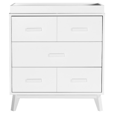 Babyletto Scoot 3-Drawer Changer Dresser - White