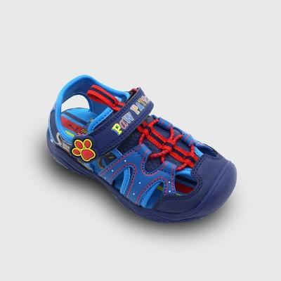 Toddler Boys' Camp PAW Patrol Sandals - Blue