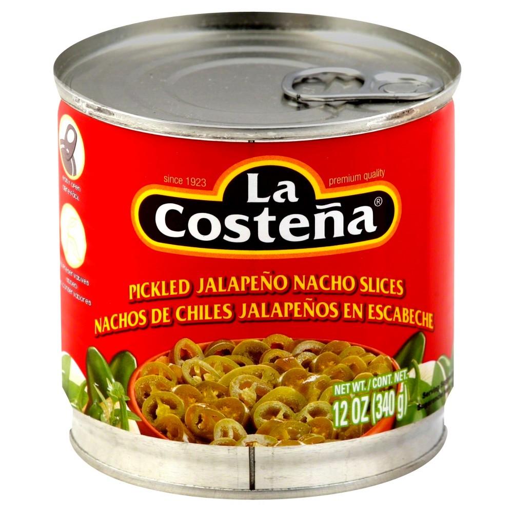 La Costena Pickled Jalapeno Nacho Slices 12 oz
