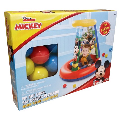 Disney Junior Mickey Mouse Inflatable Playland Ball Pit Target