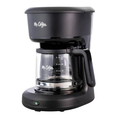 Mr. Coffee 5-cup Switch Coffee Maker - Black