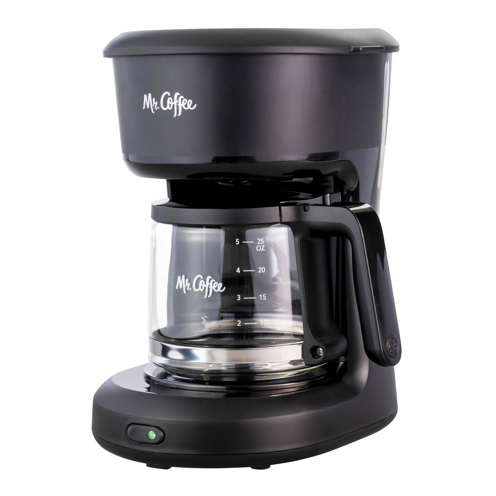Image of Mr. Coffee 5-cup Switch Coffee Maker - Black