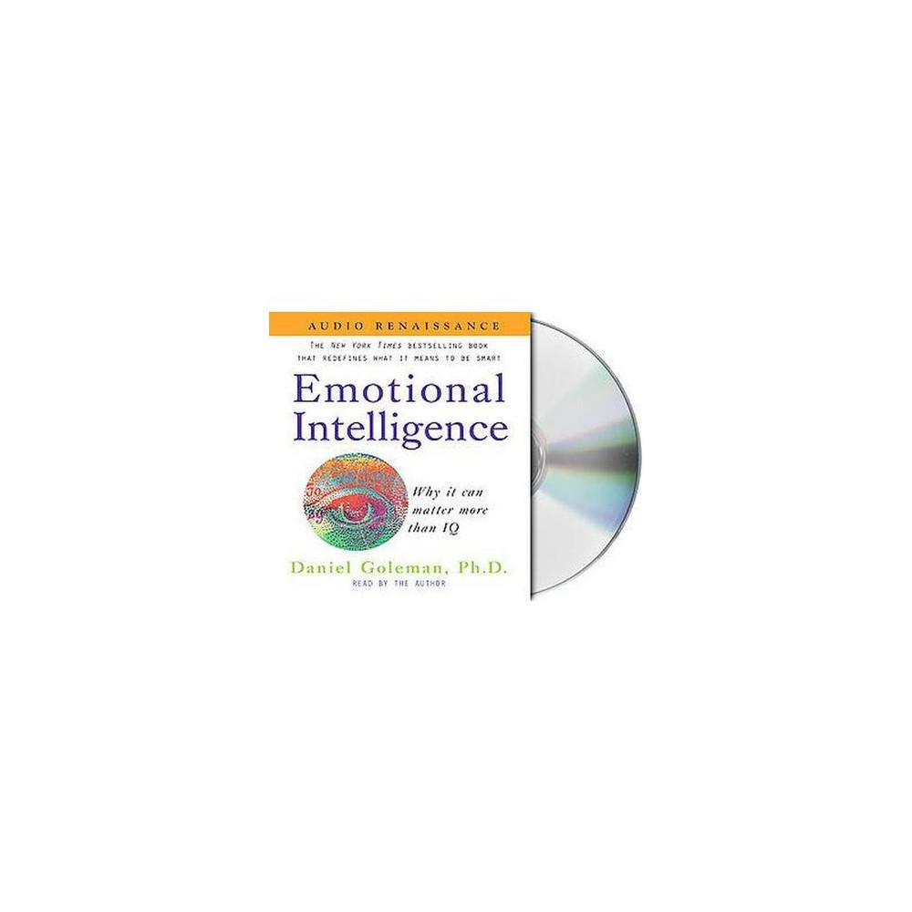 Emotional Intelligence : Why It Can Matter More That IQ (Abridged) (CD/Spoken Word) (Daniel Goleman)
