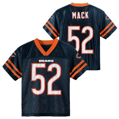 sale retailer af700 42e3e NFL Chicago Bears Boys' Mack Khalil Jersey