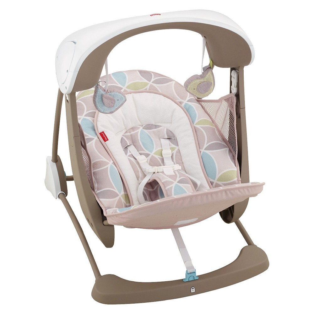 Image of Fisher-Price Deluxe Take-Along Swing & Seat