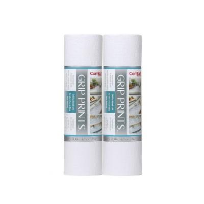 "Con-Tact Grip Prints 2pk 12""x20' Bright White"