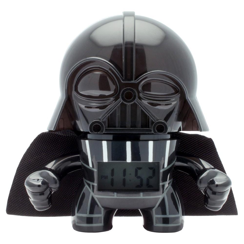 Star Wars Mini Darth Vader Clock - BulbBotz, Black