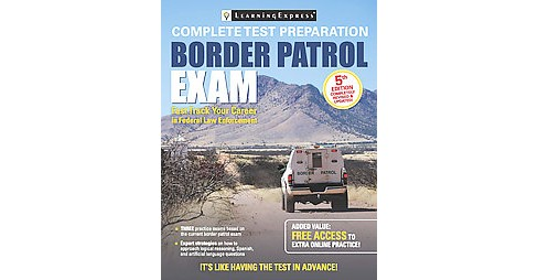 Border Patrol Entrance Exam (Revised / Updated) (Mixed media product) - image 1 of 1