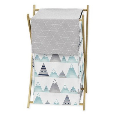 26.5  x 15.5  Mountains Laundry Hamper - Sweet Jojo Designs