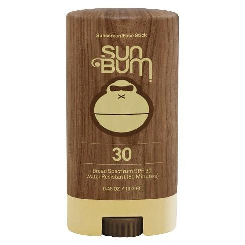 Sun Bum Sunscreen Face Stick - SPF 30 - 0.45oz - image 1 of 2