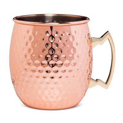 Towle Living® Copper Plated Hammered Mule Mug 18oz