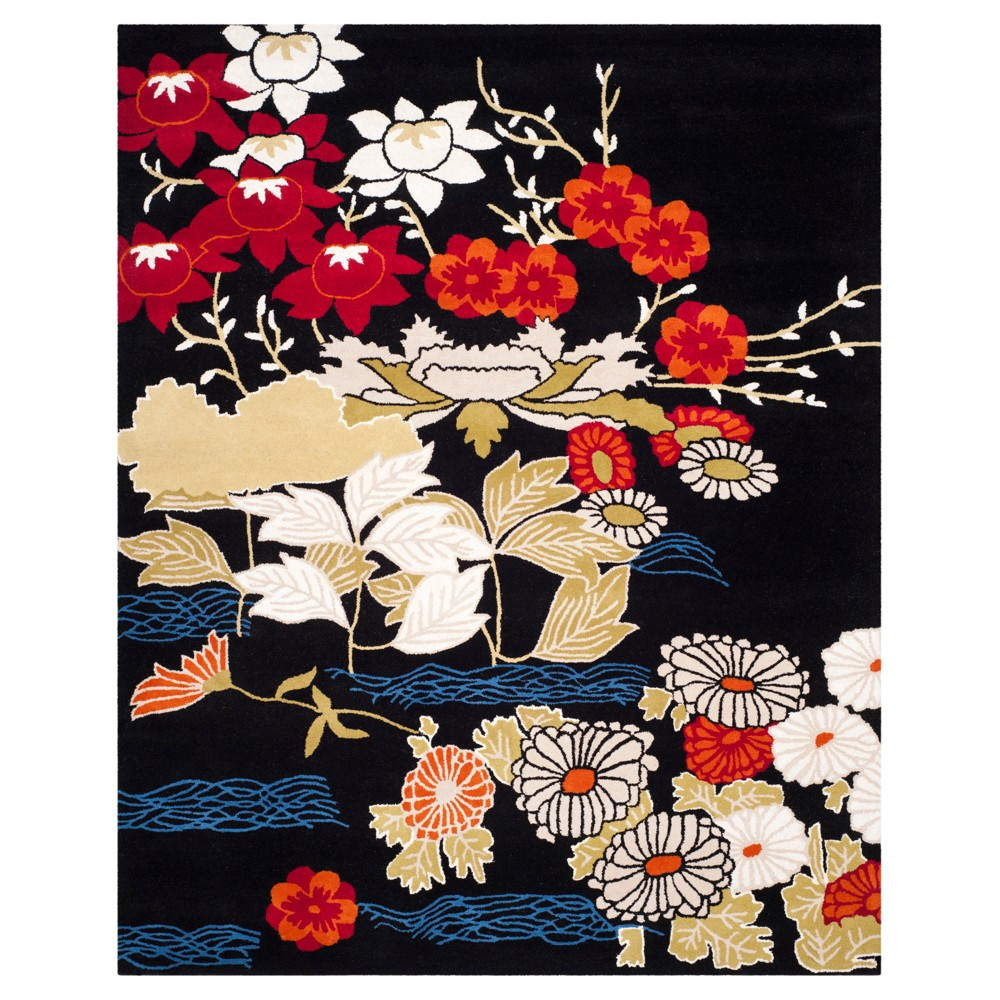 Floral Tufted Area Rug 8'X10' - Safavieh, Multicolored