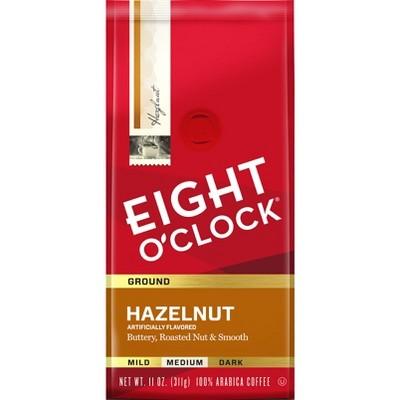 Eight O'Clock Hazelnut Medium Roast Ground Coffee - 11oz