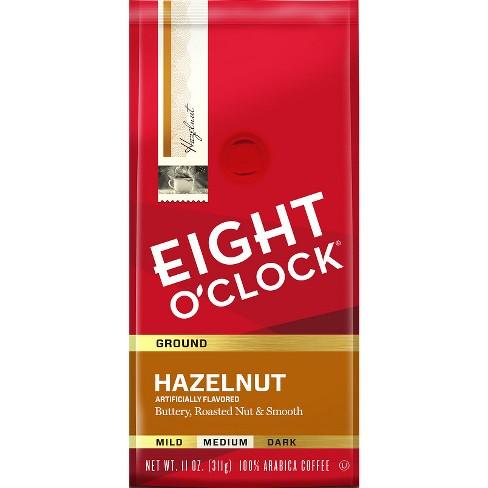 Eight O'Clock Hazelnut Medium Roast Ground Coffee - 11oz - image 1 of 3