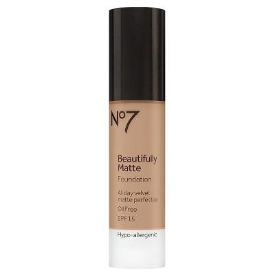 No7® Beautifully Matte Foundation SPF 15 Warm Ivory - 1oz
