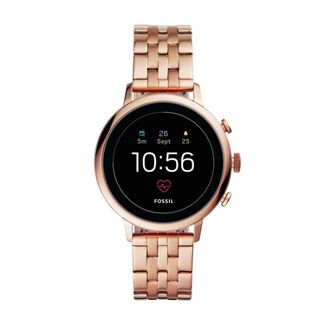 Fossil Gen 4 Smartwatch - Venture HR Rose Gold Tone Stainless Steel