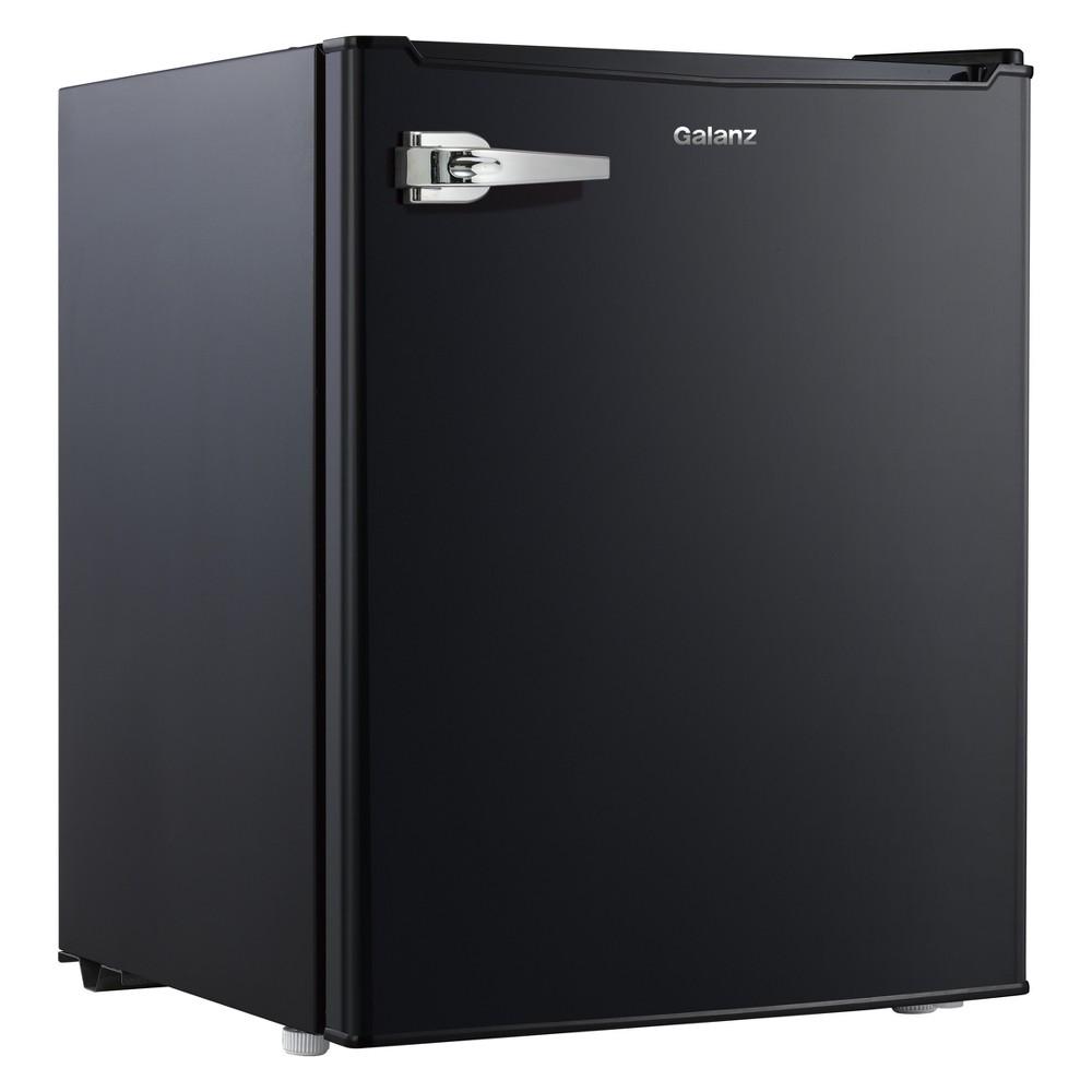 Image of Galanz 2.7 cu ft Retro Refrigerator Black