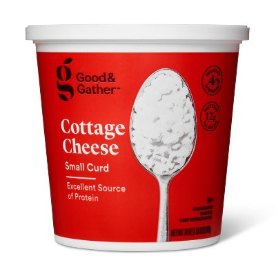 4% Milkfat Small Curd Cottage Cheese - 24oz - Good & Gather™