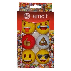 Emoji Golf Balls - 6pk