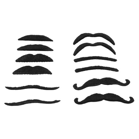 12ct Toy Moustache - Spritz™ - image 1 of 1