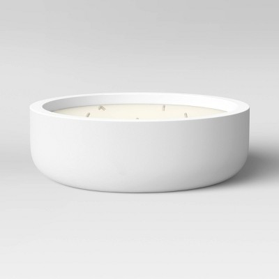 30oz 5 Wick Candle with Cement Jar White - Project 62™