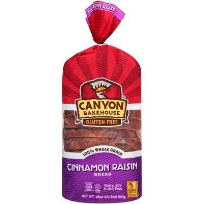 Canyon Bakehouse Gluten Free Cinnamon Raisin Bread - 18oz