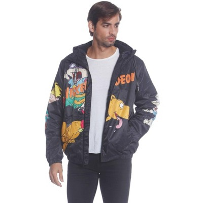 Members Only Mens Nickelodeon Rugrats Jacket with Hood