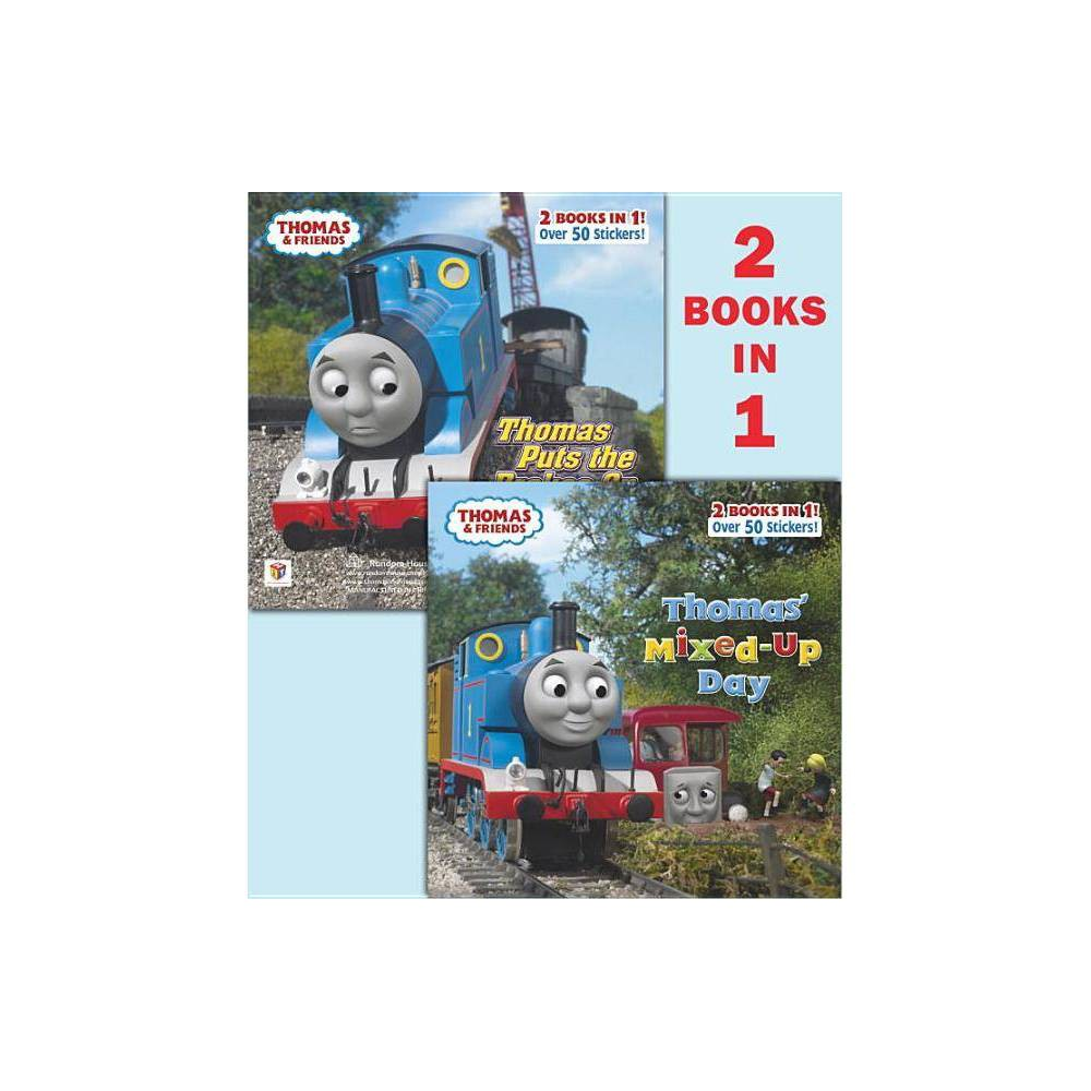 Thomas Mixed Up Day Thomas Puts The Brakes On Thomas Friends Thomas Friends 8x8 Paperback