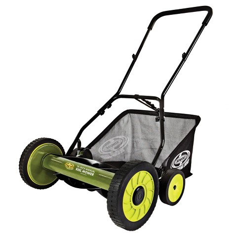 Sun Joe® 18 Inch Manual Reel Mower with Grass Catcher - image 1 of 6