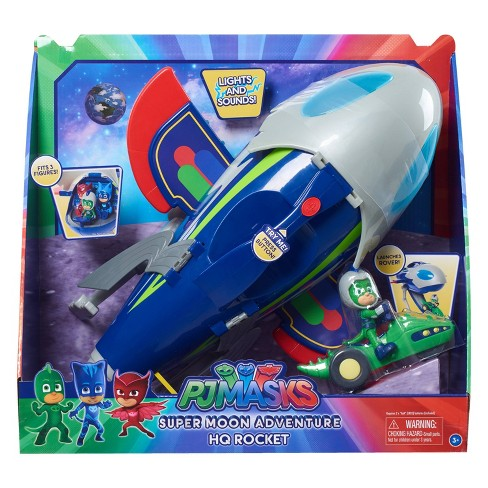 PJ Masks Super Moon Adventure HQ Rocket - image 1 of 4