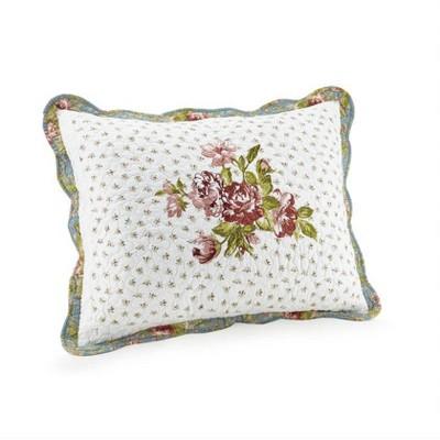 Modern Heirloom Standard Loretta Pillow Sham White