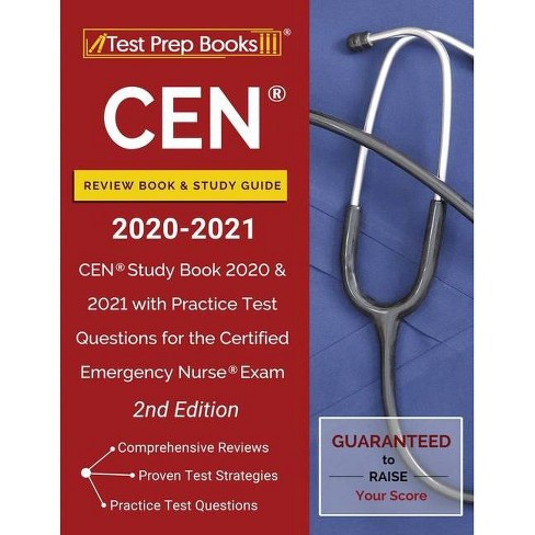 CEN Review Book and Study Guide 2020-2021 - by  Test Prep Books (Paperback) - image 1 of 1