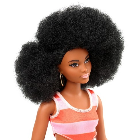 Barbie Fashionistas Doll 105 Curly Hair With Target