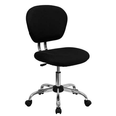 Mid Back Mesh Padded Swivel Task Office Chair - Flash Furniture - image 1 of 4