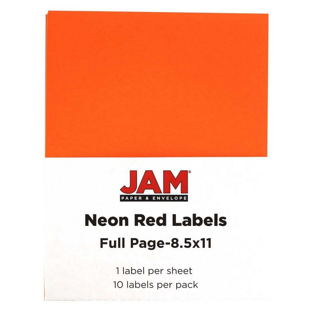 Jam Paper Shipping Labels 8.5