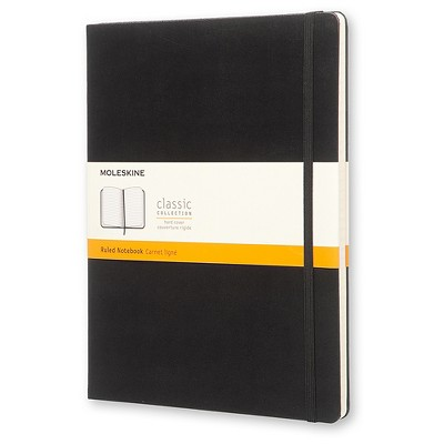 """Moleskine Composition Notebook, Hard Cover, College Ruled, 192 sheets, 7.5"""" x 9.75"""" - Black"""