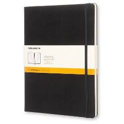 "Moleskine Composition Notebook, Hard Cover, College Ruled, 192 sheets, 7.5"" x 9.75"" - Black"