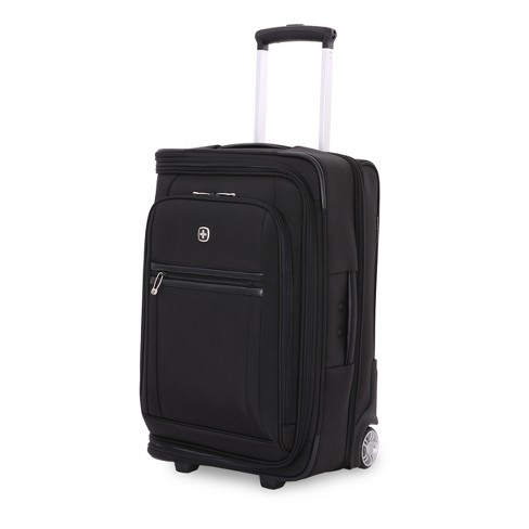Swissgear Geneva 22 Quot Carry On Suitcase W Garment Black Target
