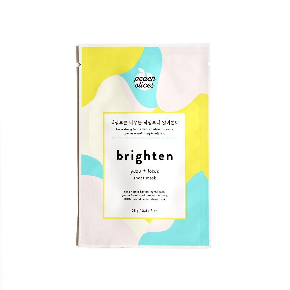 Peach Slices Brighten Sheet Mask