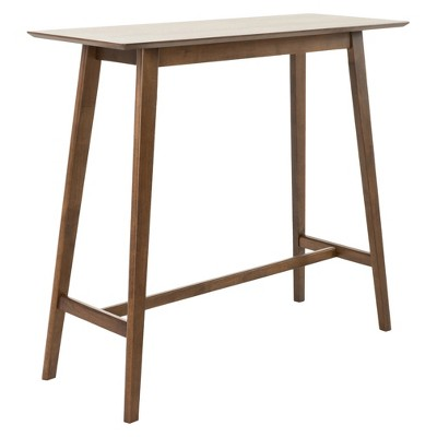 Moria 42  Bar Table - Natural Walnut - Christopher Knight Home