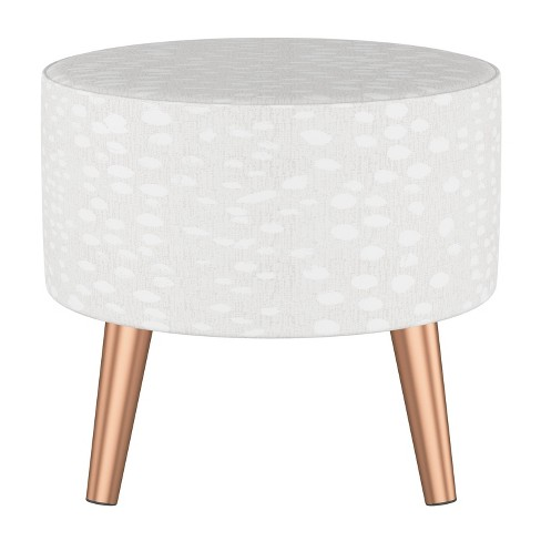 Prime Riverplace Ottoman With Splayed Linen Leopard Ivory Project 62 Ncnpc Chair Design For Home Ncnpcorg