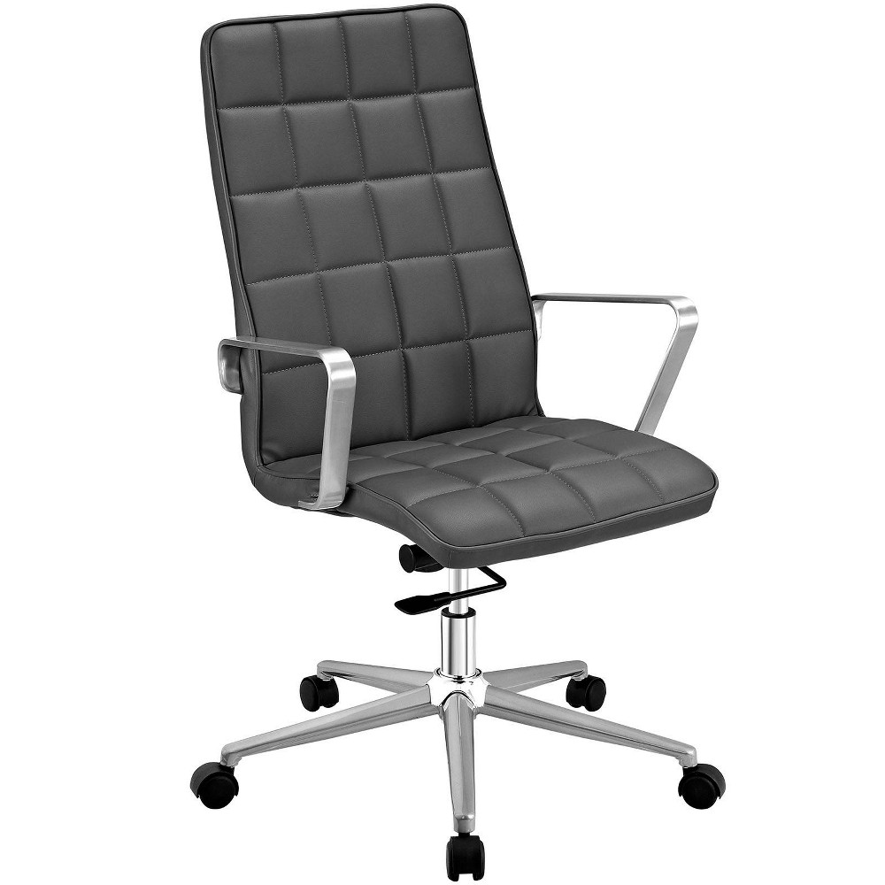 Tile Highback Office Chair Gray - Modway