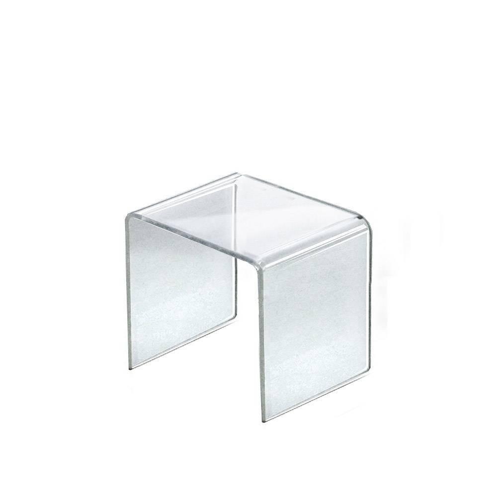 Azar Displays 5 5 4pk Acrylic Riser Display Square