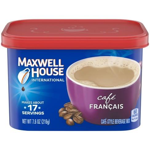 Maxwell House International Caf Francais Beverage Mix 76oz