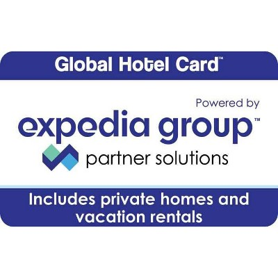 Global Hotel Card by Expedia eGift Card (Email Delivery)