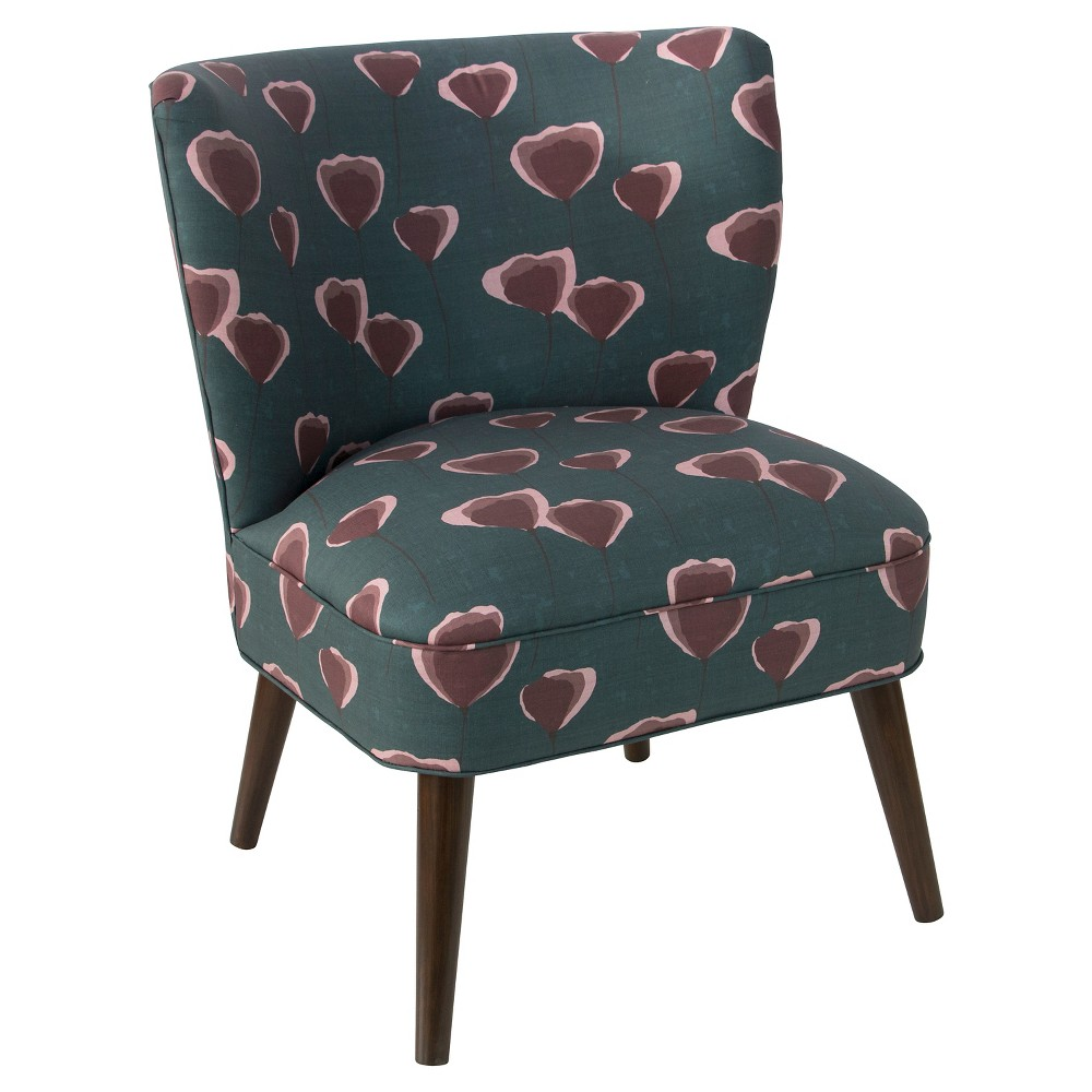 Cameryn Chair - Poppy Turquoise - Cloth & Co