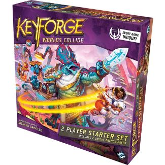KeyForge: Worlds Collide Two-Player Starter Card Game