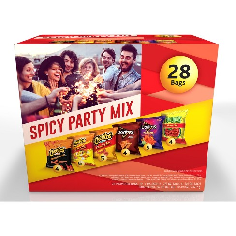 Frito-Lay Variety Pack Spicy Party Mix Cube - 28ct - image 1 of 4