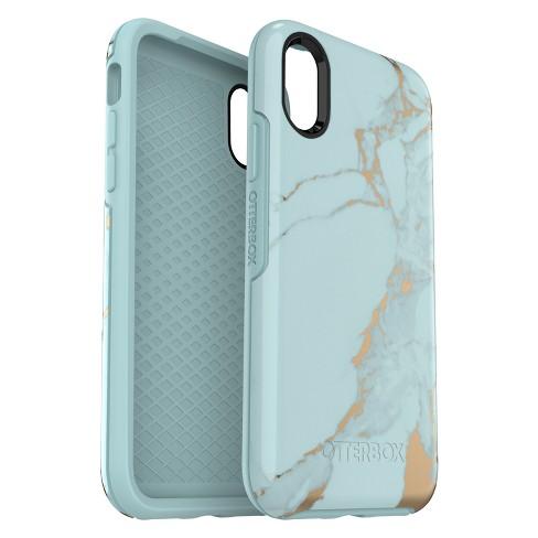 big sale d880d 4b7bc OtterBox Apple iPhone X/XS Symmetry Case - Teal Marble