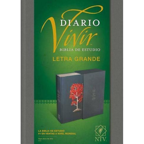 Biblia de Estudio del Diario Vivir Ntv, Letra Grande - (Hardcover) - image 1 of 1